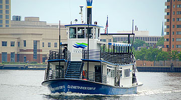 The Elizabeth River Ferry