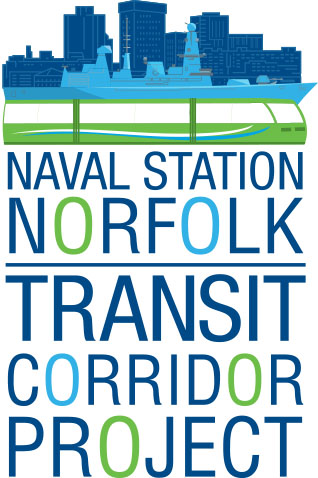 Logo - Naval Station Norfolk Transit Corridor Project