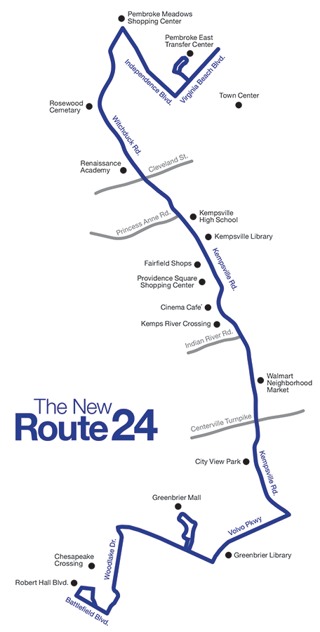 The New Route 24